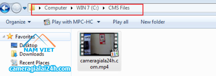 File mp4 camera Yoosee